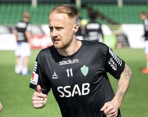 Anton Lundin är Brages främste målgörare den här säsongen. Efter målen mot Öster står han nu noterad för sex mål, vilket innebär en delad andraplats i skytteligan.