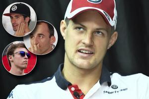 Marcus Ericsson och de tre förarna som är aktuella för Toro Rosso, upppifrån: Antonio Giovinazzi, Robert Kubica och Daniil Kvyat. Arkivfoto: Claudo Bresciani/TT