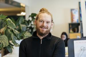 Dennis Nyström, utbildare och verksamhetsutvecklare på Män. Bild: MÄN/Tony Halldin Hultkvist
