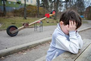 Många familjer med barn lever under knappa förhållanden.Foto: Jessica Gow / TT