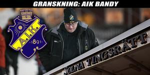 Jonas Galotta, mångårig profil i AIK, satt i styrelsen för det bolag som lämnat skatteskulder efter sig.
