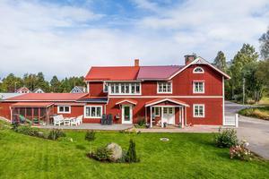 Nummer fyra på listan är en villa i Saxdalen byggd 1900. Foto: Carina Heed