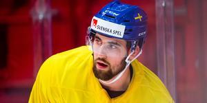Erik Gustafsson är klar för spel i VM. Bild: Simon Hastegård/Bildbyrån