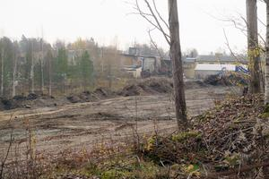 Denna markyta har företaget Laxå Bruks miljöåtervinning köpt av Laxå kommun för 200 000 kronor. Miljönämnden kräver att företaget söker marklov för att exploatera marken. Parallellt pågår också en process på länsstyrelsen om företaget ska få strandskyddsdispens eller ej.