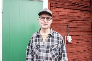 Björn Falkeström, bryggeriägare och vd, på Oppigårds bryggeri.