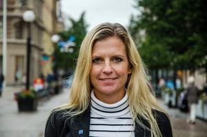 Det blev ingen riksdagsplats för Liza-Maria Norlin men hon siktar nu på att ta sig in i EU-parlamentet.