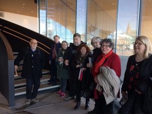 En del av gruppen. Foto: Marjatta Kärki