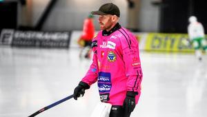 Henrik Rehnvall hade en utmärkt match i Brobergs kasse.