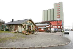 I november 2011 fanns det mesta kvar i hamnen. Det lilla gröna huset hyste en blomsteraffär i slutet av