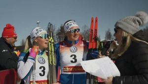 Linn Sömskar och Jonna Sundling tog SM-guld.