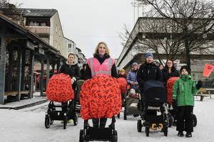 Anna Brolin tycker att mödradödligheten är en viktig fråga och tog initiativ till Barnvagnsmarschen.