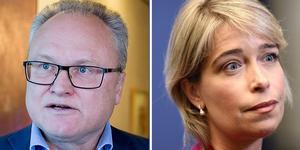 Sjukvårdspartiet råder tillträdande regionstyrelseordförande Glenn Nordlund (S) att lyssna till socialminister Annica Strandhäll. Foto: Arkiv och TT