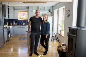 Köksön är en naturlig samlingsplats för familjen Nordin/Lundström.