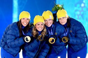 OS-guld stafett 2014. Bild: Joel Marklund/Bildbyrån.