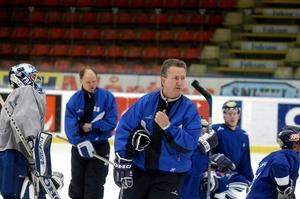 Per-Arne Alexandersson som tränare i Leksands IF. Foto: Esbjörn Johansson/TT