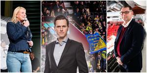 Ordföranden Catharina Elmsäter-Svärd och klubbdirektören Mats Pernhem lämnar SSK – nu måste medlemmarna välja väg, skriver Sportens krönikör Jacob Sjölin. Foton från LT:s arkiv.