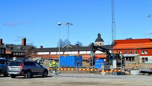 Bygget vid Stora Skedvi skola går nu in i sista skedet. I september ska allt vara klart.