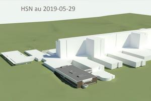 Region Västernorrlands egen omslagsbild över projektpresentationen för den till- och ombyggnad som planeras för mottagning och dagvård vid onkologkliniken på Sundsvalls sjukhus. Bild: Region Västernorrland