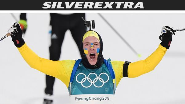 Sebastian Samuelsson blev tvåa i skidskytte-jaktstarten. Foto: Petter Arvidson (Bildbyrån).