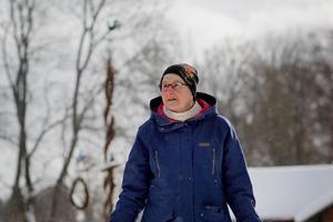 Lena Borgs berättar att både Föreningen Hedemora Gammelgård och Hedemora kommun är överens om att Gammelgården är ett viktigt kulturarv.