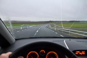 Nya Gäddeholmsvägen är tänkt att fortsätta till Harkie. När det kan bli av är oklart.Foto: Rune Jensen/Arkiv