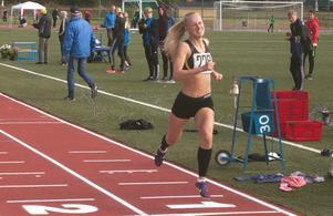 Vann den klassen gjorde Thea Norlund från Skellefteå, sju och en halv sekund före Ida Esperi från Haparanda.