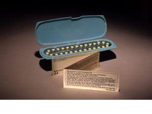 En burk p-piller från 1970. Elizabeth Anscombe motsatte sig inte bara aborter utan också preventivmedel. Foto: The U.S. Food and Drug Administration