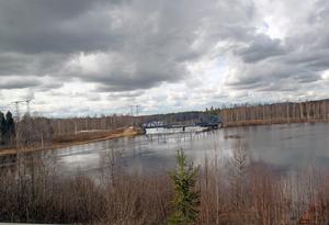 Med en ökad tappning av Venjansjön kommer vattennivån att stiga i Vanån