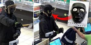 På nyårsafton larmades polisen till två bensinstationer i Falun efter dubbla larm om rån. Nu åtalas mannen för båda. Foto: Polisen