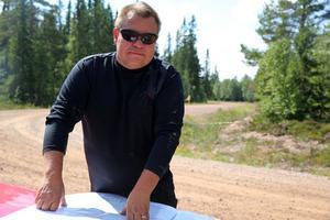 Ari Heikkinen, driftschef Fortifikationsverket Trängslet, Älvdalen.