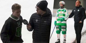Kasper Sandgren. Bild: Skärmdump från Bandypuls / Andreas Tagg