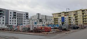 Riksbyggen ska bygga ett flerfamiljshus på fastigheten Sjömärket, Lillåudden.