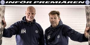 Vännerna Roger Melin och Gunnar Persson.