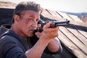 Sylvester Stallone som den älskade krigsveteranen i den senaste filmen