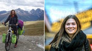 Eva bestående intryck av resan är alla vänliga och gästfria människor, världen runt.Foto: Privat / Håkan Risberg
