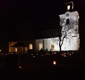 Alfta kyrka. Foto: Maria Borg