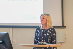 Nordanstig kommer att få se höjda va-avgifter under de kommande åren förklarar Ewa Thorén, ekonomichef, på Mittsverige vatten.