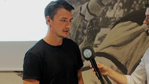 Jesper Johansson som precis förlängt kontraktet med VIK.