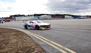 Här på Åre Östersund Airport kommer STCC och Camaro Cup på besök i början av augusti. Serierna avslutas sedan i september på Solvalla, som också är en ny bana för i år.Foto: Freddie.se