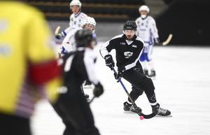 Alan Dzhusoev, mittfältare i Sandviken. En spelare att hålla ett extra öga på under säsongen enligt Andreas Tagg.