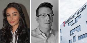Josefine Johansson och Martin Bomström från Örebro universitet har gått till final i tävlingen Business Law Challenge, där juridikstudenter får tävla i att lösa juridiska problem.