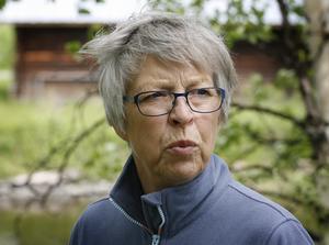 – Självklart hoppas vi att barnfamiljer vill flytta hit, säger Gunvi Hellström Åslund.