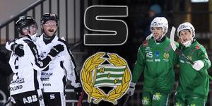 På tisdagen möts Sandviken och Hammarby i den första kvartsfinalen. Bäst av fem matcher är det som gäller och vinnande lag kommer att ställas mot VSK eller Vänersborg i semi.