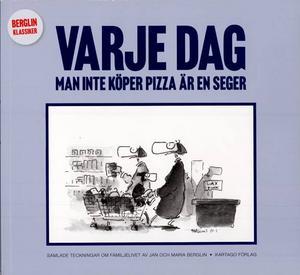 """Vinn! Kulturredaktionen lottar ut tio exemplar av Jan och Maria Berglins sommaraktuella bok """"Varje dag man inte köper pizza är en seger""""."""