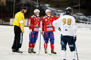 Johan Söderström och Klas Nordström, två viktiga kuggar i Västanfors lagbygge.