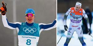 Iivo Niskanen och Viktor Thorn. Foto: AP Photo/Matthias Schrader och Tore Meek/TT