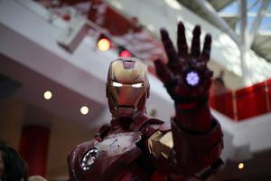 Iron man har mer än ett par likheter med Elon Musk. Bild: TT