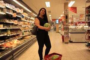 I dag blev det bara meloner för Zeynep Yuksek, de var på extrapris.