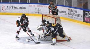 Det blir ofta jämnt när Borlänge och Hudiksvall möts. Lördagens match var inget undantag.