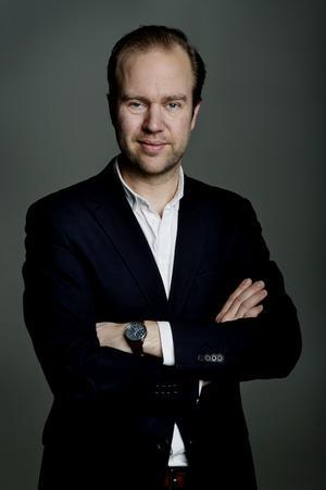 Olle Lidbom har i många år varit en av Sveriges mest välkända medieanalytiker, inte minst genom bloggen Den vassa eggen. Bild: Annika af Klercker